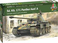 Германски танк - Sd. Kfz. 171 Panther Ausf. A - Сглобяем модел -