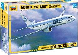 Пътнически самолет - Boeing 737-800 - Сглобяем авиомодел -