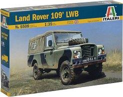 Британски военен джип  - Land Rover 109 LWB - Сглобяем модел -