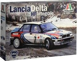 Състезателен автомобил - Lancia Delta HF Integrale - Сглобяем модел -