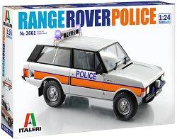 Полицейски автомобил - Range Rover - Сглобяем модел -