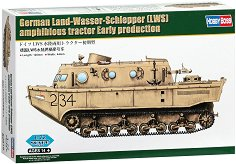 Германски амфибиен трактор - German Land-Wasser-Schlepper - Сглобяем модел -
