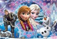"""В света на Елза и Анна - Пъзел от серията """"Замръзналото кралство"""" - пъзел"""