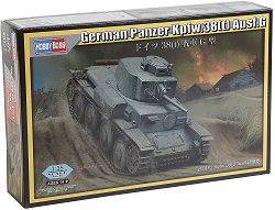 Германски танк - Panzerkampfwagen 38(t) Ausf.G  - Сглобяем модел -