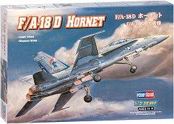 Американски изтребител - F/A-18D Hornet - Сглобяем авиомодел -
