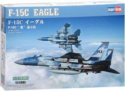 Американски изтребител - F15C Eagle - Сглобяем авиомодел -