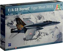 Американски многоцелеви изтребител - F / A - 18 Hornet Tiger Meet 2016 - Сглобяем авиомодел -