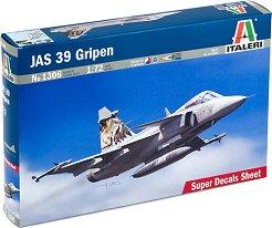 Изтребител - JAS 39 Gripen - Сглобяем модел -