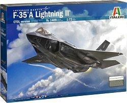 Американски изтребител - F-35A Lightning II - Сглобяем авиомодел -