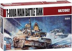 Руски основен боен танк - Т-80УА  - Сглобяем модел -