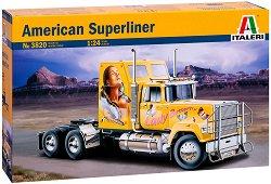 Влекач - American Superliner - Сглобяем модел -