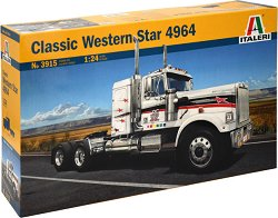 Амеркинаски камион - Classic Western Star 4964 - Сглобяем модел -