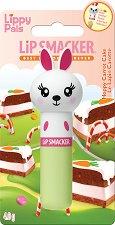 Lip Smacker Lippy Pals - Bunny - Балсам за устни с аромат на морковена торта - очна линия