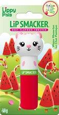 Lip Smacker Lippy Pals - Kitten - Балсам за устни с аромат на диня - паста за зъби
