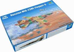 Руски изтребител - МиГ-23МЛ Glogger - G - Сглобяем авиомодел -
