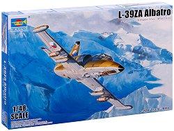 Чехословашки самолет - L-39ZA Albatro - Сглобяем авиомодел -