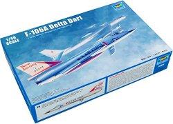 Американски прехващач - F - 106A Delta Dart - Сглобяем авиомодел -