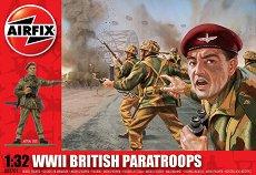 Британски парашутисти - Комплект от 14 фигури -