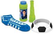 Лео Меси - Футболни балони - Комплект за игра с чорап и сапунени мехури - творчески комплект