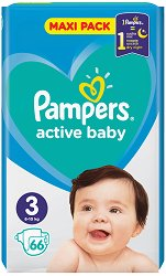Pampers Active Baby 3 -