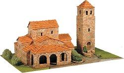 Църква St. Maria de Lebena - Сглобяем модел от истински тухлички - макет