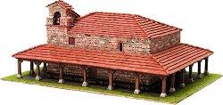 Църква St. Adriana de Argineta - Сглобяем модел от истински тухлички - макет
