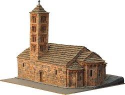 Църква St. Maria de Taull - Сглобяем модел от истински тухлички - макет