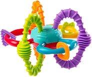 Дрънкалка с дъвкалка - Bend & Twist Ball - За бебета над 6 месеца -