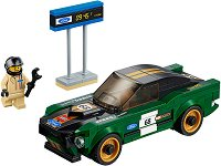 LEGO: Speed Champions - Ford Mustang Fastbac 1968 - играчка