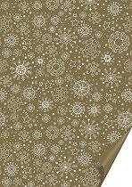 Двустранен картон за скрапбукинг - Снежинки - Формат А4