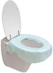 Еднократни протектори за тоалетна чиния - продукт