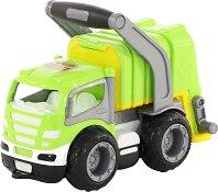 Боклукчийски камион с дръжка - аксесоар