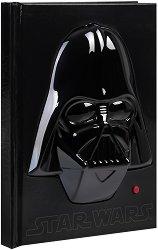"""Тефтер - Дарт Вейдър - Със звуков ефект от серия """"Star Wars"""" - продукт"""