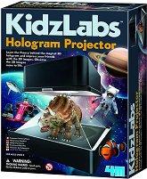 """Холограмен проектор - Детски образователен комплект от серията """"Kidz Labs"""" - играчка"""
