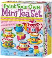 Оцвети сама - Сервиз за чай - Творчески комплект - творчески комплект