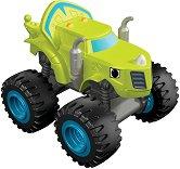 """Зег - Метална количка от серията """"Пламъчко и машините"""" - играчка"""