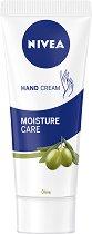 Nivea Moisture Care Hand Cream - Хидратиращ крем за ръце с маслина - несесер