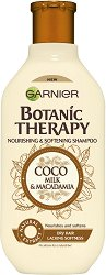 Garnier Botanic Therapy Coco Milk & Macadamia Shampoo - Шампоан за суха коса с кокосово мляко и макадамия - масло