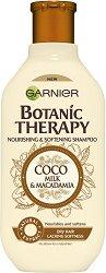 Garnier Botanic Therapy Coco Milk & Macadamia Shampoo - душ гел