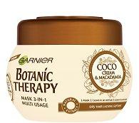 Garnier Botanic Therapy Coco Milk & Macadamia Mask 3 in 1 - Мултифункционална маска за суха коса с кокосово мляко и макадамия - масло