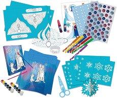 Създай сама декорация за рожден ден - Замръзналото кралство - Творчески комплект -