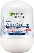 "Garnier Mineral Action Control+ Anti-Perspirant Roll-On - Ролон дезодорант от серията ""Deo Mineral Action Control+"" - балсам"