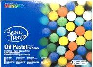 """Маслени пастели - Semi Jumbo - Комплект от 24 цвята от серията """"Gallery"""""""