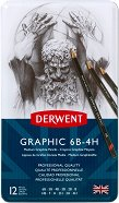 Графитни моливи - Graphic Designer - Комплект от 12 молива в метална кутия