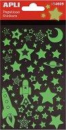 Светещи в тъмното стикери - Космос