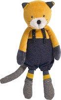 """Коте - Lulu - Мека бебешка играчка от серията """"Les Moustaches"""" -"""