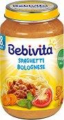 Bebivita - Пюре от спагети болонезе - продукт