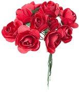 Декоративен елемент - Червени рози