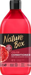 Nature Box Pomegranate Oil Conditioner - Натурален балсам за боядисана коса с масло от нар -