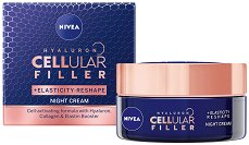 Nivea Cellular Filler + Elasticity Reshape Night Cream - продукт